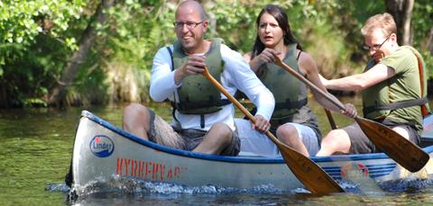 canoe vaccation
